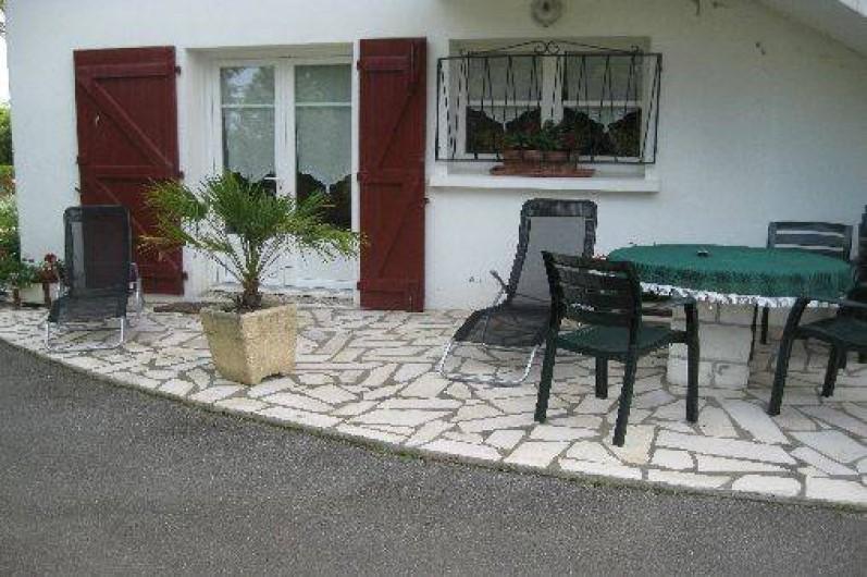 Location de vacances - Appartement à Ahetze - le rez-de-chaussée en location