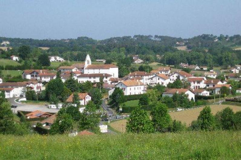 Location de vacances - Appartement à Ahetze - village d'Ahetze