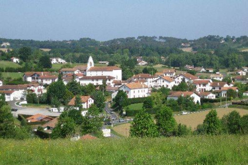 Location de vacances - Appartement à Ahetze - village d'Ahetze