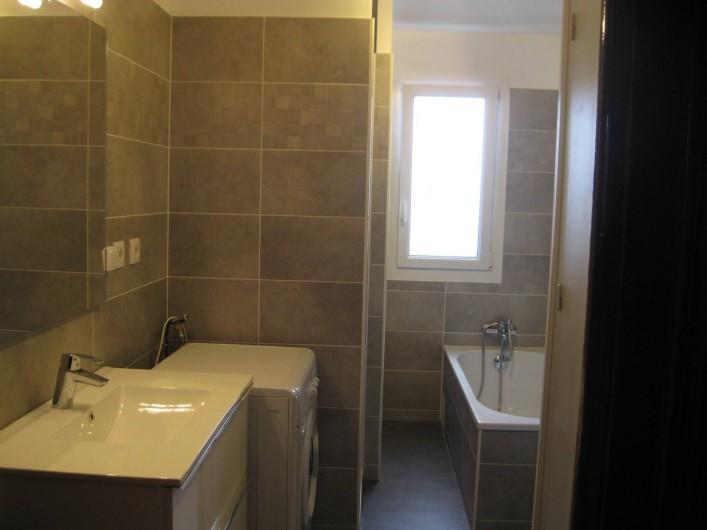 Location de vacances - Appartement à Ahetze - salle de bains