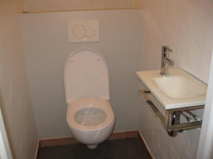 Location de vacances - Appartement à Ahetze - toilette séparée