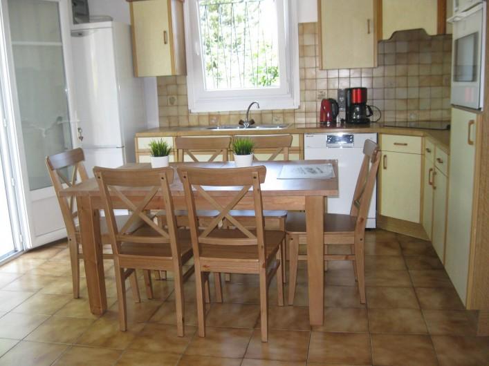 Location de vacances - Appartement à Ahetze - cuisine