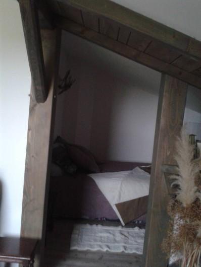 Location de vacances - Chambre d'hôtes à Pupillin - alcove mezzanine