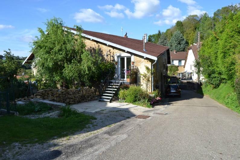 Location de vacances - Chambre d'hôtes à Pupillin - le vieux pressoir