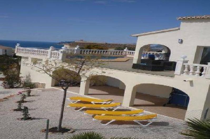 Location de vacances villa à el poble nou de benitatxell