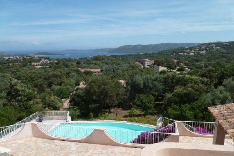 France Corse Du Sud  Maison Climatise Avec Jardin Et Piscine Vue