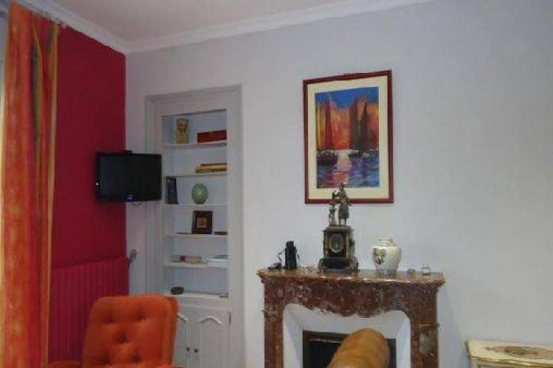 Location de vacances - Appartement à Saint-Malo - séjour -salon sur Mer