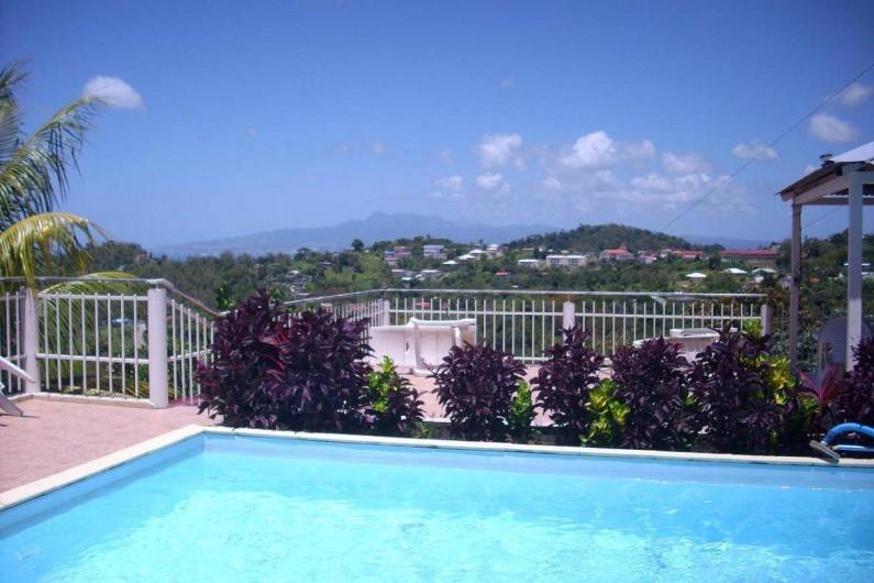 Location de vacances - Gîte à Sainte-Luce - LA Piscine et sa vue