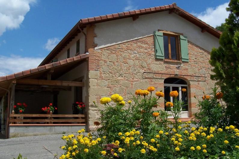 Location de vacances - Chambre d'hôtes à Seysses-Savès - La maison