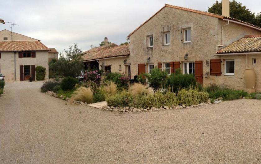 Location de vacances - Gîte à Sainte-Blandine - vue d ensemble du gite