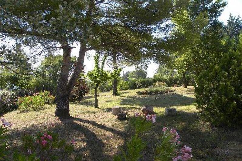 Location de vacances - Mas à Le Puy-Sainte-Réparade
