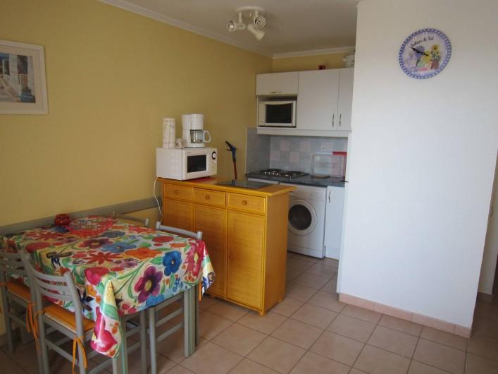 Location de vacances - Appartement à Le Cap d'Agde - Le coin cuisine