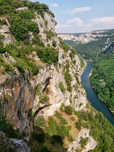 Location de vacances - Appartement à Saint-Montan - les gorges de l'Ardèche