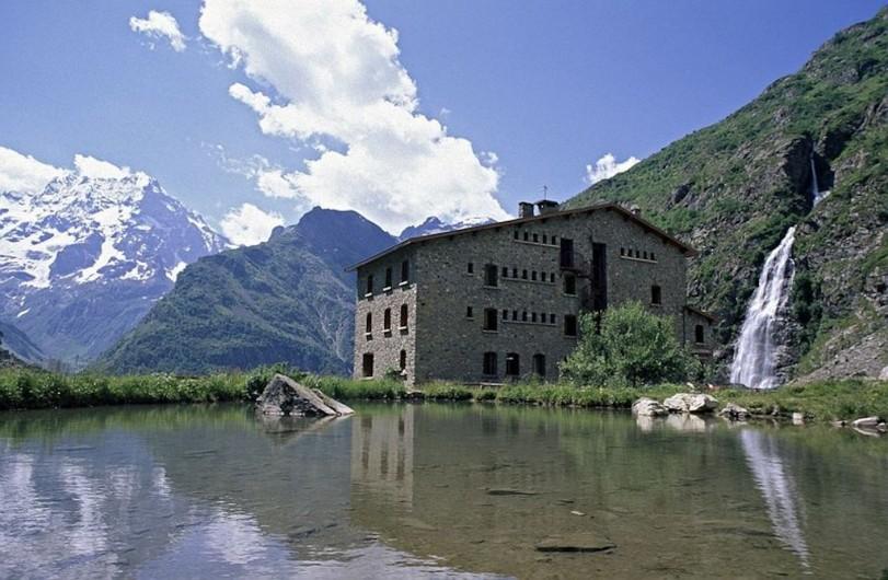 Location de vacances - Appartement à La Joue du Loup - Superbe paysage des Alpes, le Gioberney