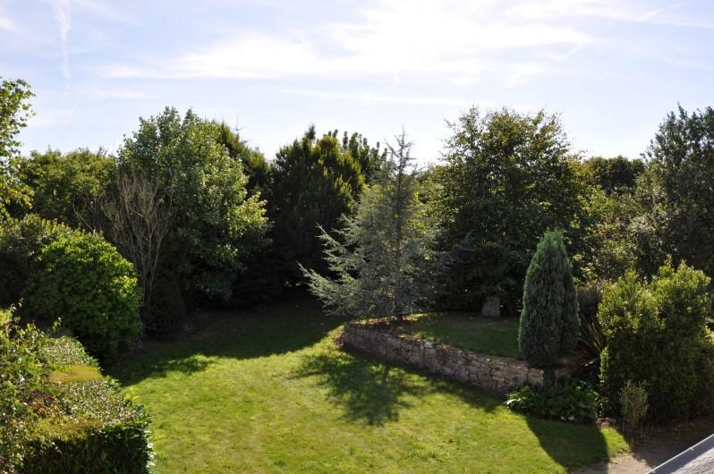 Location de vacances - Gîte à Lanvellec - Ty Coz - jardin devant la maison