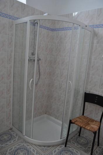 Location de vacances - Gîte à Lanvellec - Ty Nevez -  cabine douche