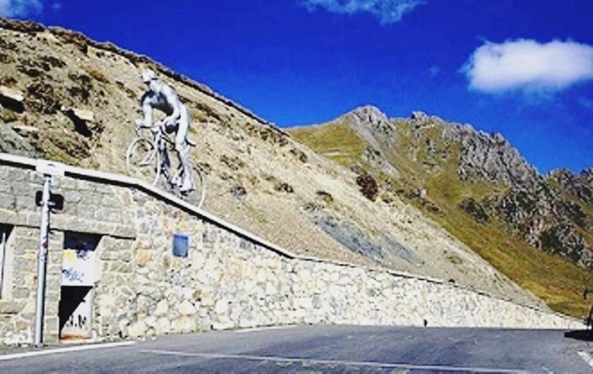 Location de vacances - Gîte à Esquièze-Sère - COL DU TOURMALET  mythique des cyclistes