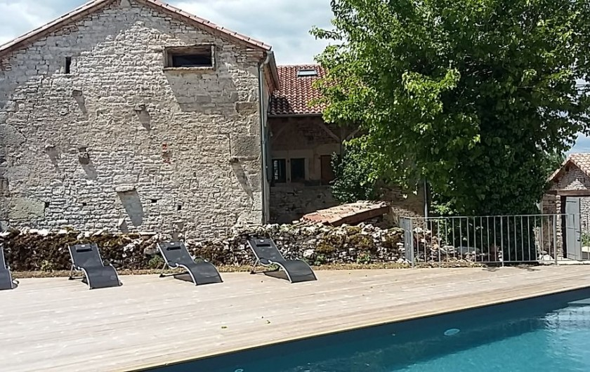 Location de vacances - Gîte à Saint-Antonin-Noble-Val - Maison de caractère datant de 1701...