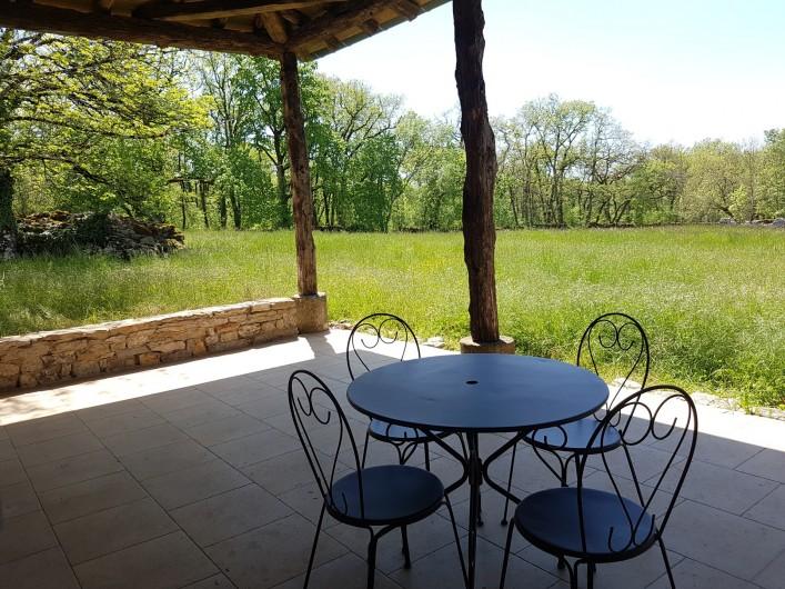 Location de vacances - Gîte à Saint-Antonin-Noble-Val - calme et quiétude...