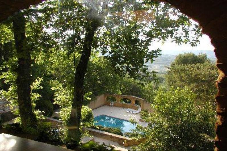 Location de vacances - Appartement à Sabran