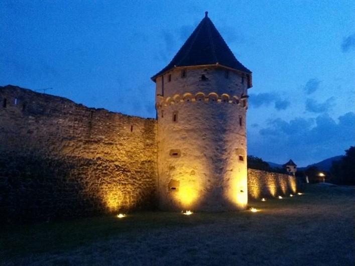 Location de vacances - Gîte à Bergheim - Rempart de nuit