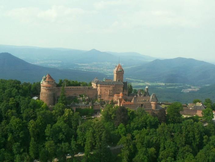 Location de vacances - Gîte à Bergheim - non loin de là, le Haut Koenigsbourg