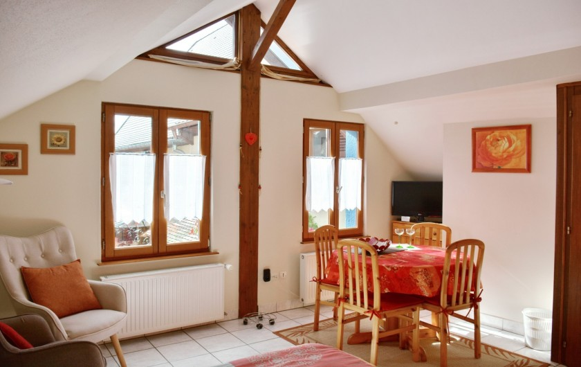 Location de vacances - Gîte à Bergheim - Séjour