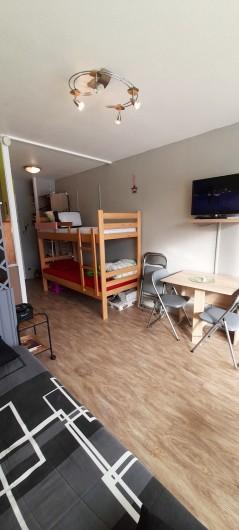 Location de vacances - Studio à Gérardmer - lits superposés enfants