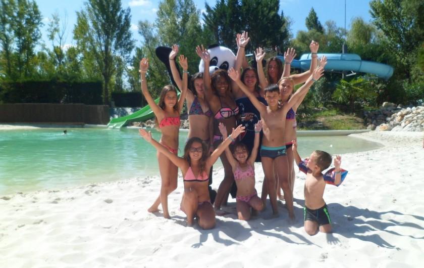 Location de vacances - Camping à Damiatte - Les enfants du club avec Charly