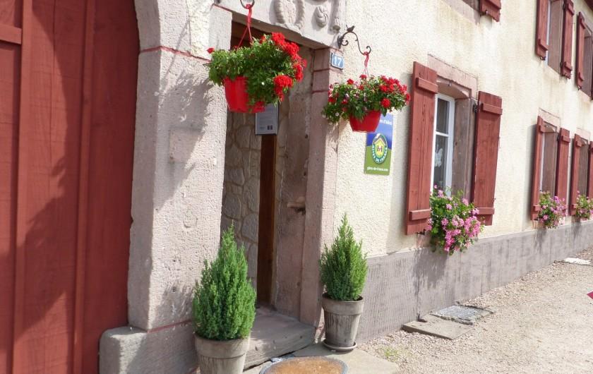 Location de vacances - Chambre d'hôtes à Gerbépal - L'entrée de notre Chambre D'hôte Relais de la Poste