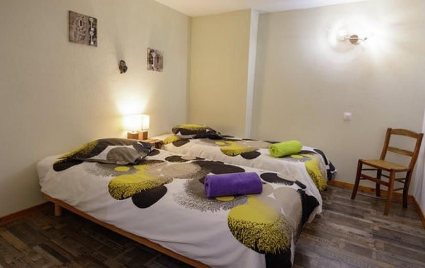 Location de vacances - Chambre d'hôtes à Gerbépal - Chambre: La Calèche suite