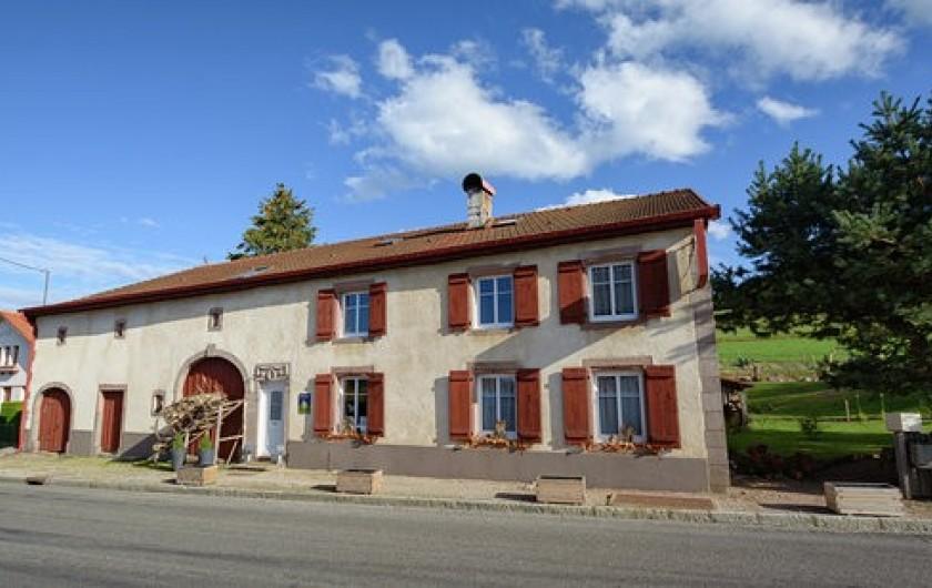 Location de vacances - Chambre d'hôtes à Gerbépal - Chambre D'Hôte Relais de la Poste