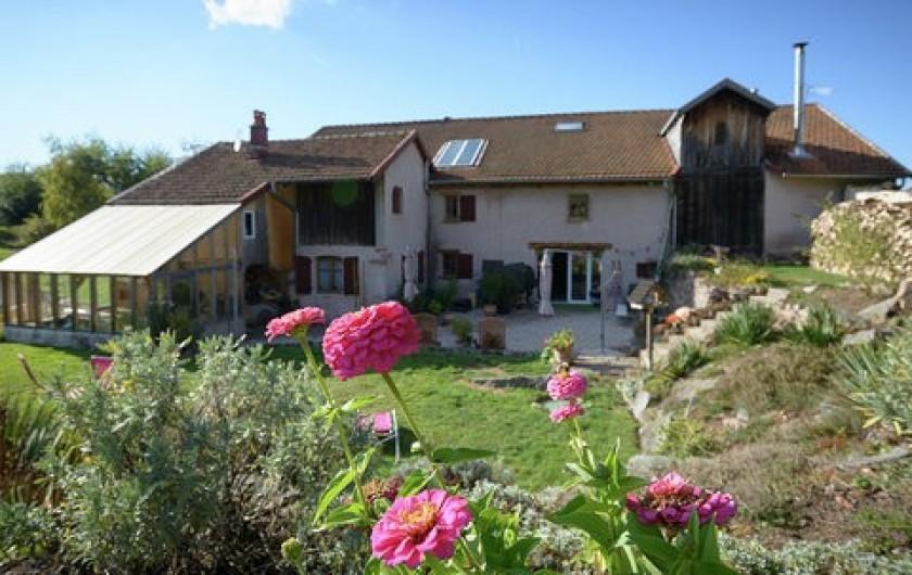 Location de vacances - Chambre d'hôtes à Gerbépal - L'arrière de la maison D'Hôte