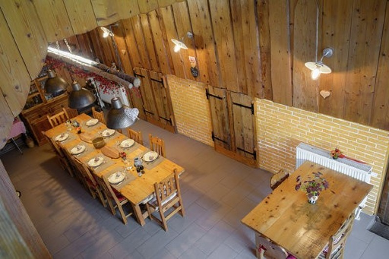 Location de vacances - Chambre d'hôtes à Gerbépal - Salle à Manger vue du Salon