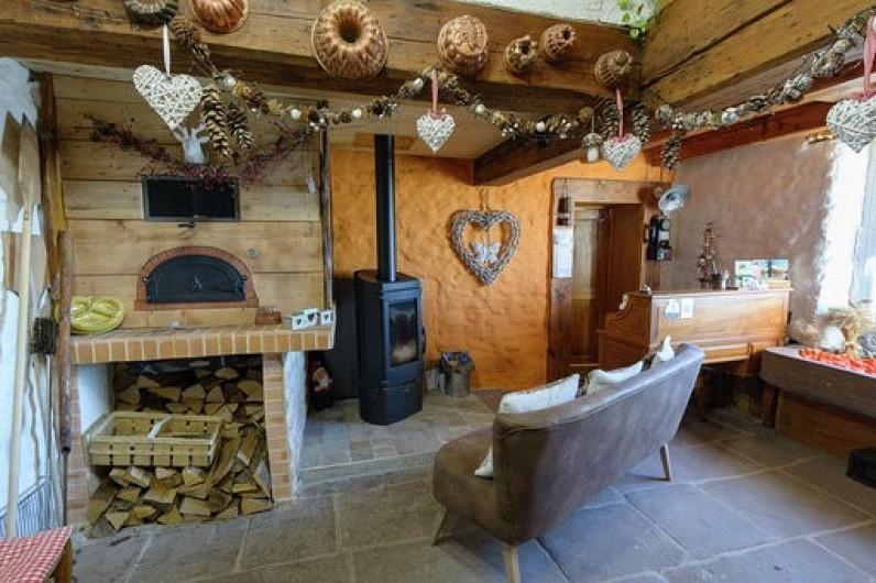 Location de vacances - Chambre d'hôtes à Gerbépal - Accueil / L'Entrée Four à Pain ou Pizza