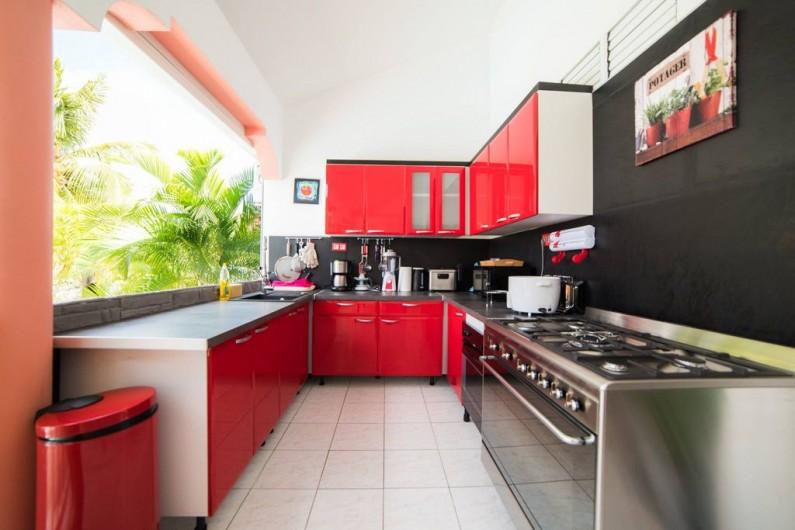 Location de vacances - Villa à Sainte-Anne - pool
