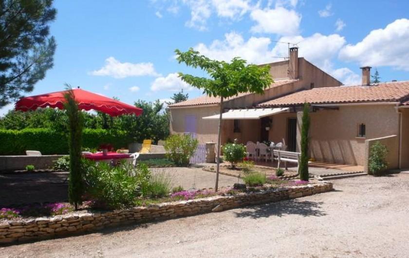Location de vacances - Chambre d'hôtes à Saint-Saturnin-lès-Apt