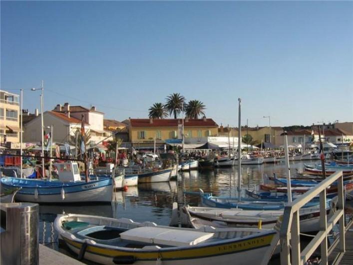 Location de vacances - Maison - Villa à Six-Fours-les-Plages - Le petit port de pêcheurs du Brusc.
