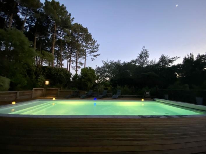 maison de charme aux hautes rives biscarosse en aquitaine au bord d 39 un lac biscarrosse. Black Bedroom Furniture Sets. Home Design Ideas