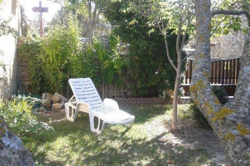 Location de vacances - Villa à Revest-des-Brousses - Coin bronzage
