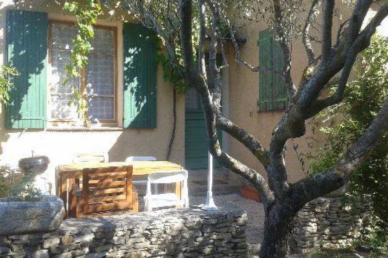 Location de vacances - Villa à Revest-des-Brousses - Terrasse