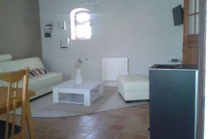 Location de vacances - Villa à Revest-des-Brousses - Salon