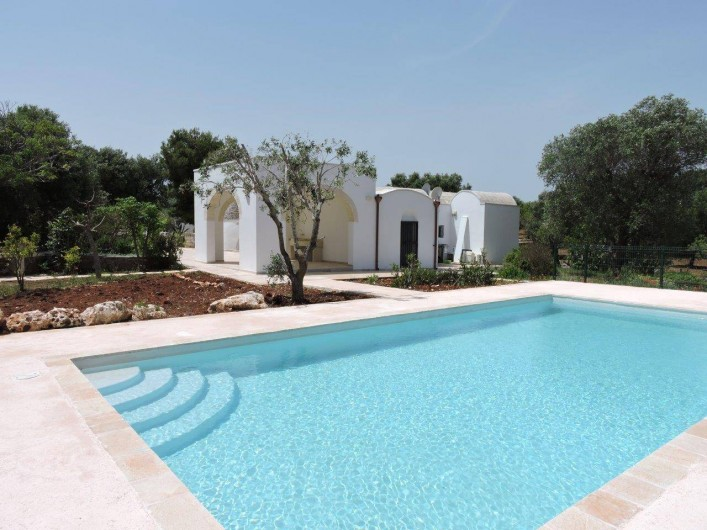 Location de vacances - Villa à Ostuni - piscina - 10 x 5m