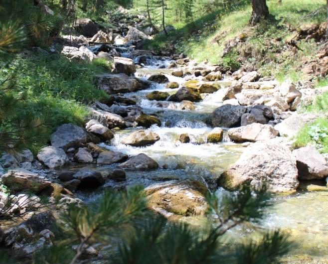 Location de vacances - Appartement à Puy-Saint-Vincent - Les cascades sur les chemins de randonnées