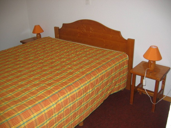 Location de vacances - Appartement à Le Corbier - Chambre des parents