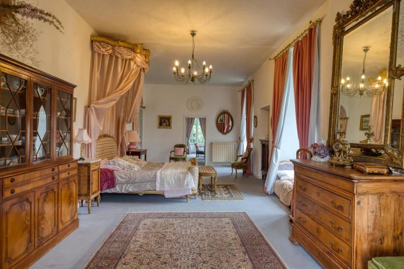 Location de vacances - Château - Manoir à Poligné - Suite Roses Trémières