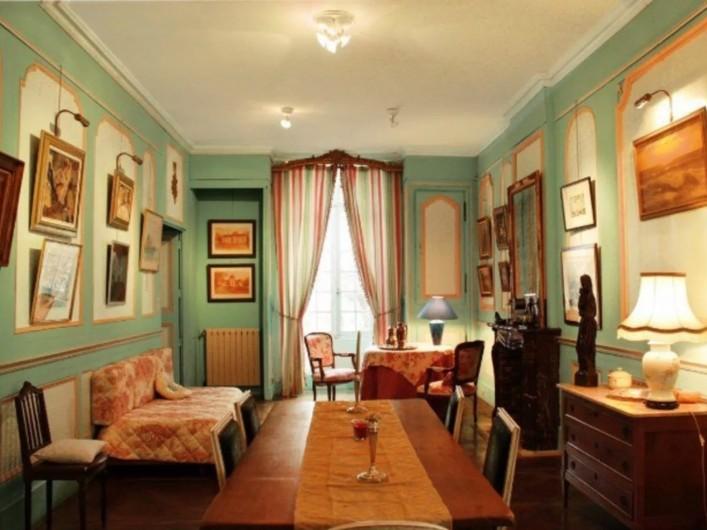 Location de vacances - Château - Manoir à Poligné - Salon turquoise