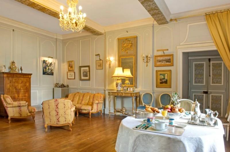 Location de vacances - Château - Manoir à Poligné - Salon jaune