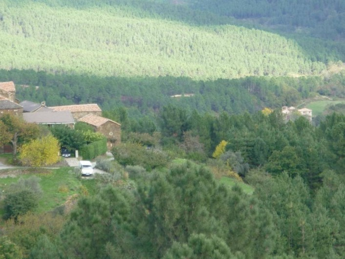Location de vacances - Gîte à Malbosc - le hameau  le mas
