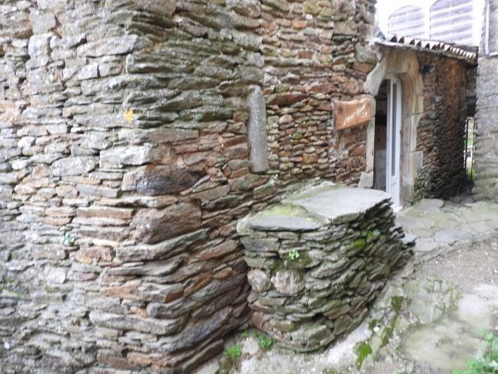 Location de vacances - Gîte à Malbosc - arrivée au gite